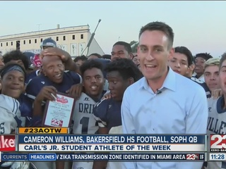 Male Athlete of the Week: Cameron Williams