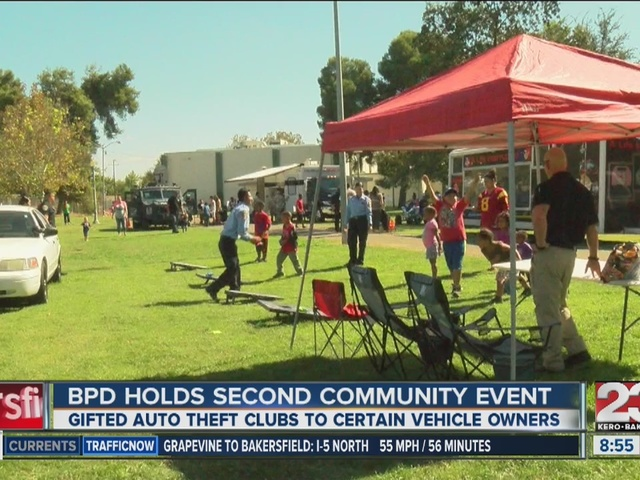 BPD hosts community event in east Bakersfield