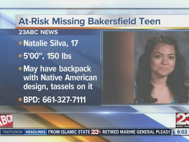 Missing 17-year-old Natalie Silva