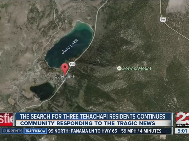 Search continues for three Tehachapi men