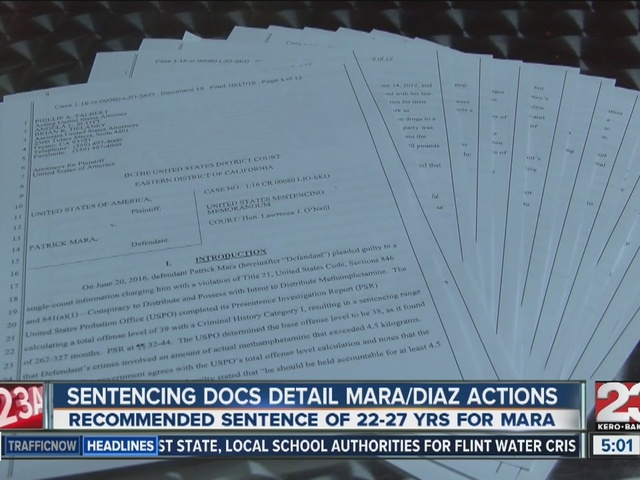 New documents detail Mara and Diaz's illegal activity