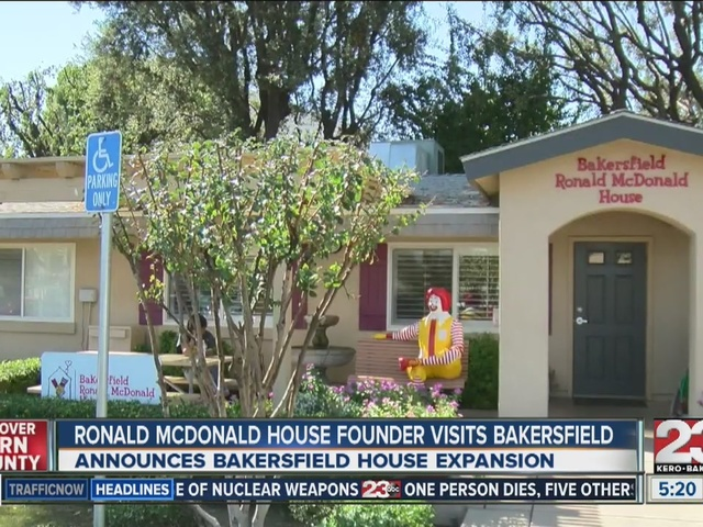 Local Ronald McDonald House Expansion