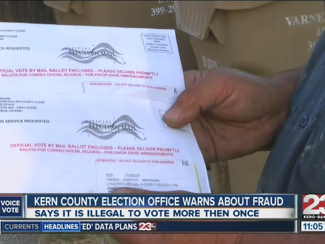 kern county elections office warns of fraud