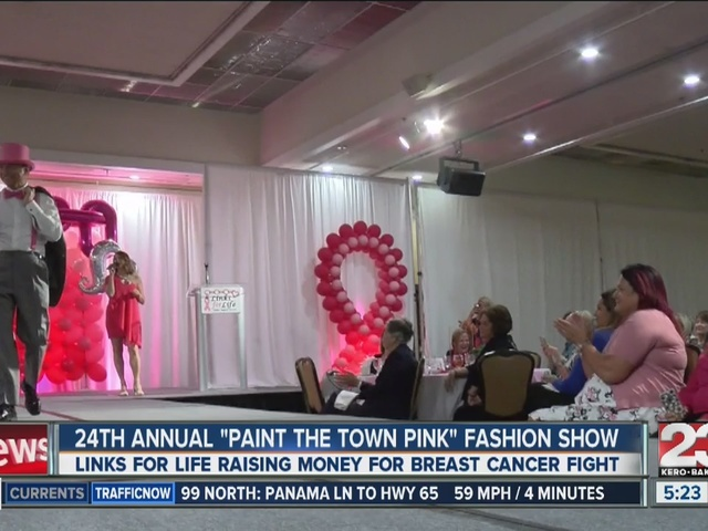24th annual Paint the Town pink fashion show