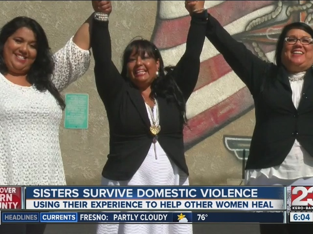 Sisters survive domestic violence