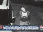 Thieves hit southwest Bakersfield neighborhood
