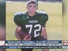 Tehachapi football honors former teammate