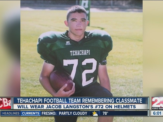 Tehachapi High School teammate remembered