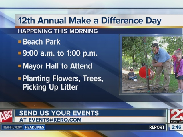 12th Annual Make A Difference Day