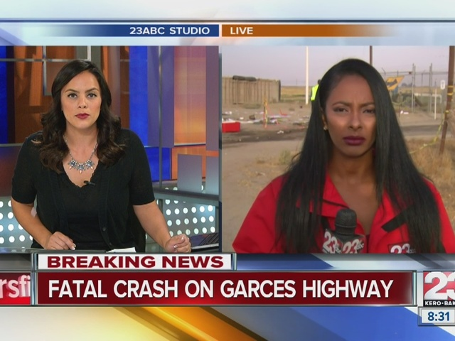 Car crash leaves on person dead on Garces Highway.