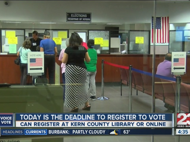 Last Day To Register to Vote in California