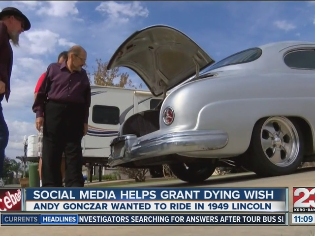 Local's help grant Bakersfield man his dying wish