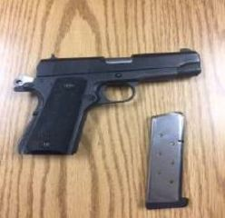Two arrested for firearm, gang related charges