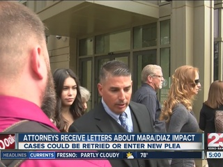 Attorneys receive letters for Diaz/Mara cases