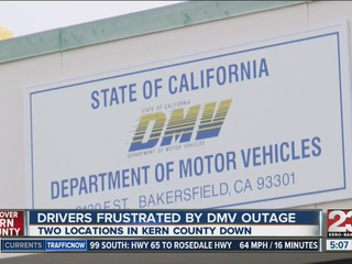 DMV computer outage continues