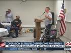 Operation Battlefield spreads awareness