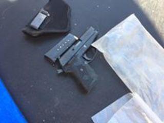 Tehachapi PD recover stolen gun and meth
