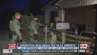 Operation Boo results in 62 arrests on Halloween
