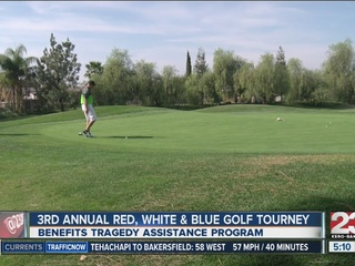 Golf tournament honors military and families