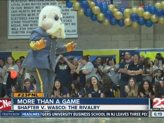 Wasco and Shafter High battle in Friday rivalry