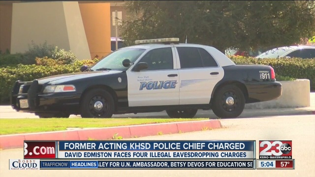 Former Kern High School District Police Chief David Edmiston ...