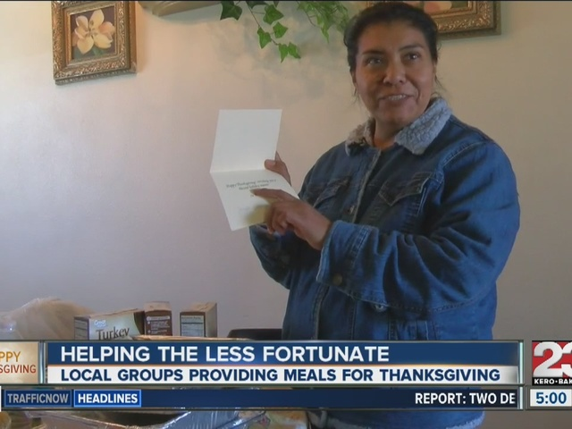 Love for Thanksgiving provides thousands of meals