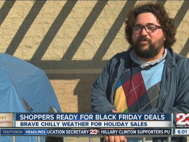 Shoppers ready for Black Friday deals