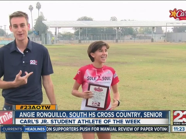 Angie Ronquillo named 23ABC's female AOTW