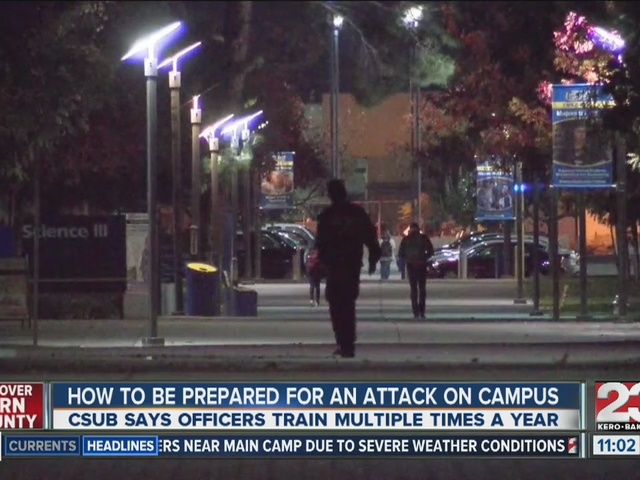 How to be ready in case of an attack on campus
