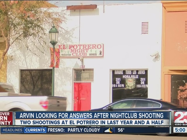 Arvin looking for answers after nightclub shooting.