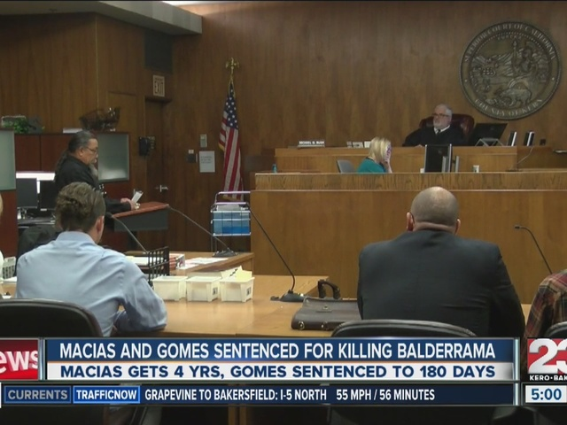 Isaac Macias and Ibrahim Gomes sentenced for killing Leslie Baldarrama