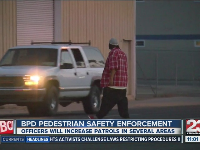 Pedestrian safety concerns in Bakersfield