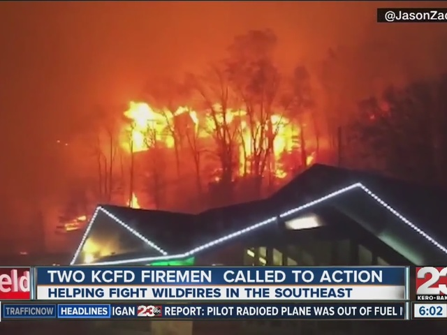 Two KCFD firemen called to action