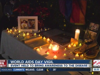 Local non-profit holds vigil for AIDS