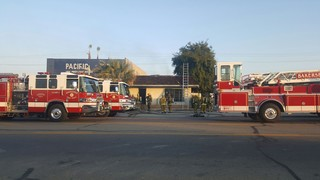 East Bakersfield business goes up in flames