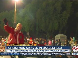 WATCH - 2016 Bakersfield Christmas Parade