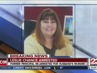 Todd Chance's widow jury trial in November
