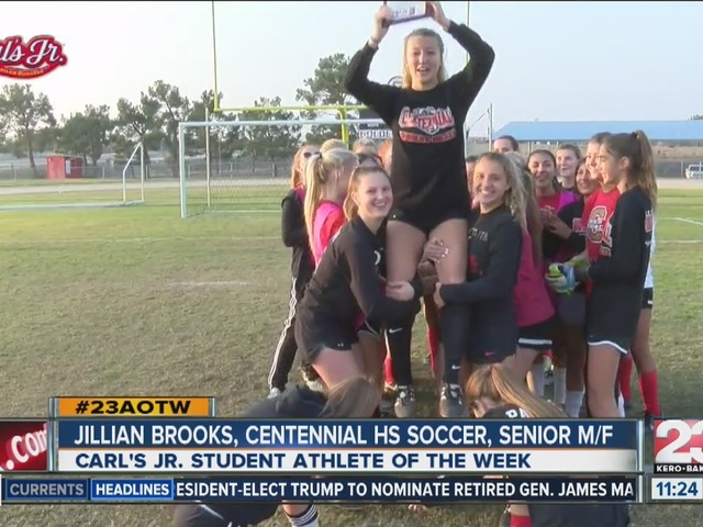 Female Athlete of the Week: Jillian Brooks