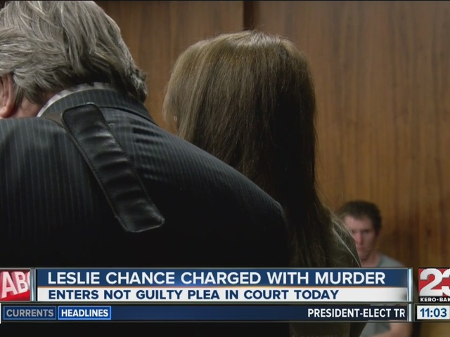 Leslie Chance charged with murder