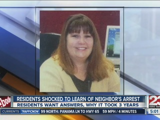 Residents shocked to learn of neighbor's arrest