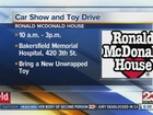 Local car clubs team up to collect toys for kids