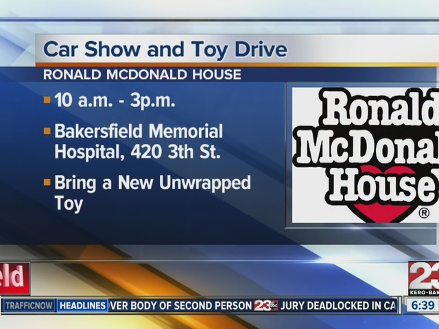 Bakersfield Ronald McDonald House Toy Drive