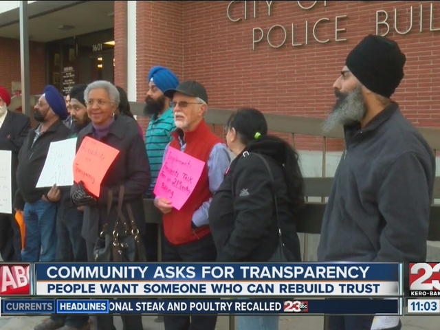 Community wants transparency from new BPD chief