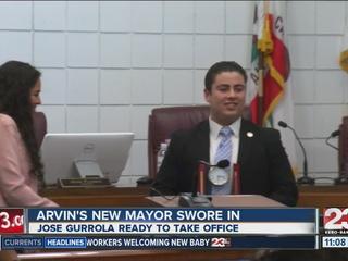Arvin's new mayor officially sworn in