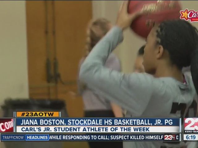 Female Athlete of the Week: Jiana Boston