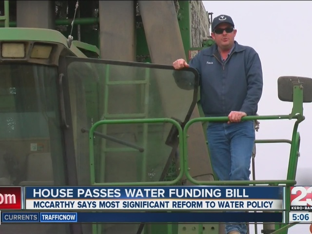 House passes water funding bill