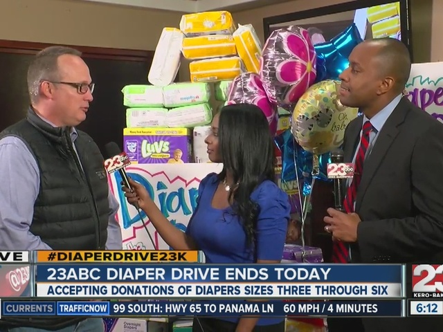 23ABC News Diaper Drive Ends Today