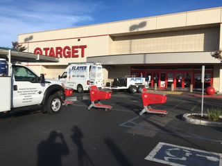 East Hills Target closed due to health issues