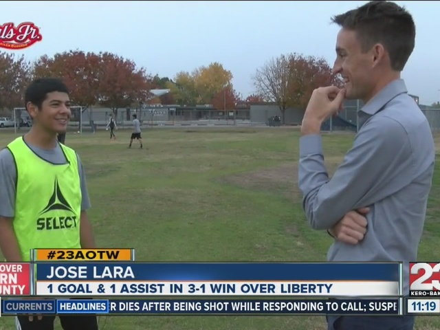 Male Athlete of the Week: Jose Lara