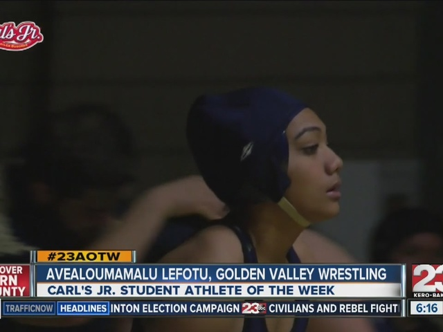 Female athlete of the week: Avealoumamlou Lefotu